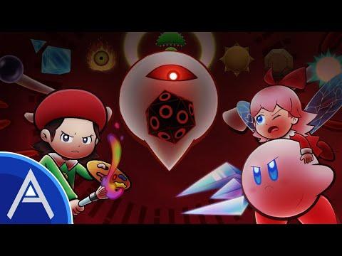 Adeleine and Ribbon Speedart - Kirby 64: The Crystal Shards - Project Dream |