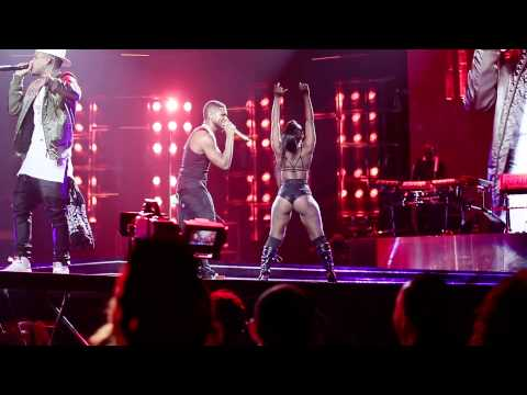 Usher / Chris Brown / Kid Ink - Live #URXTOUR LA STAPLES CENTER