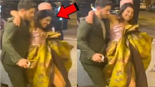 Nick Jonas SAVES Priyanka Chopra From FALLING Down At Isn't It Romantic Movie Premiere