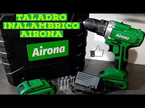 TALADRO INALAMBRICO AIRONA, ¿Vale la pena? / Review de taladro inalámbrico económico