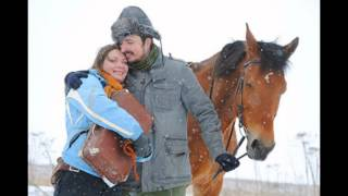 Фотосессия с лошадьми зимой