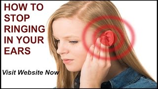 RINGING IN EARS SOUND EFFECT - How To Stop Ringing The Ears