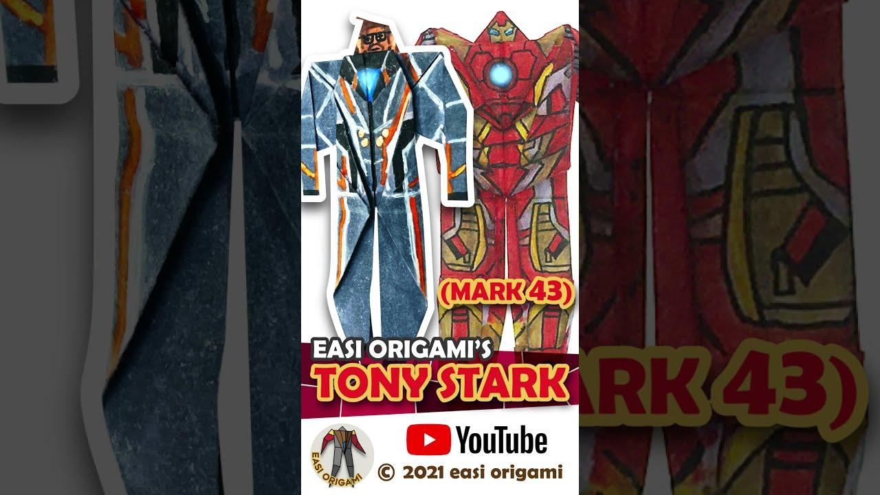 Tony Stark to IRON MAN Mark 5, 43 & 85 #Shorts
