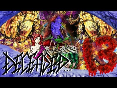 Deceased - The 13 Frightened Souls - best classical death metal video crazy bizarre animation