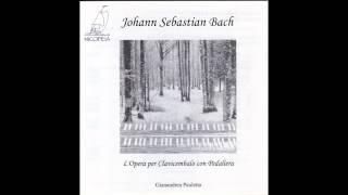 Johann Sebastian Bach : Passacaglia in C minor BWV 582 for pedal harpsichord ( G. Pauletta)