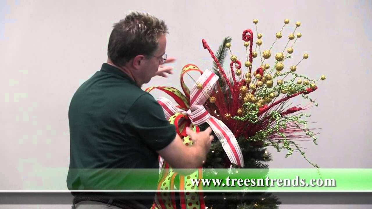 Christmas tree 2014 decorating trends - How To Decorate A Christmas Tree Trees N Trends Unique Home Decor