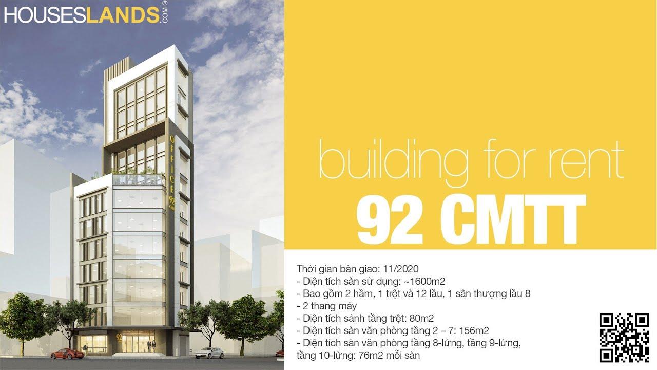 Cho Thue Van phong Cao cap Quan 3 - 92 CMT8 HOUSESLANDS.COM