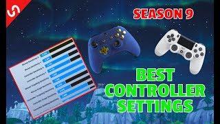 BEST FORTNITE CONSOLE SETTINGS SEASON 9 XBOX/PS4 BEST SENSITIVITY