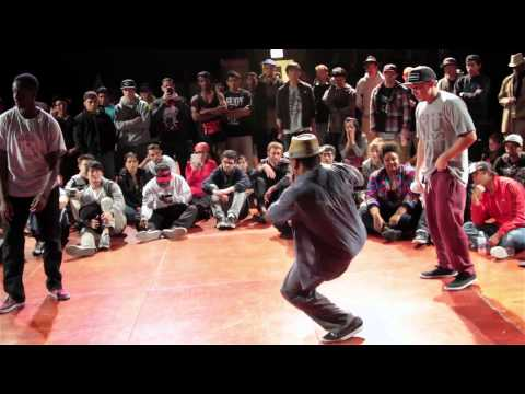 Soulbotics/Ill Minded Stylez vs Moon Runners (Popping Exhibition at Raw Elements 2012)