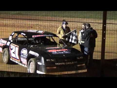 Sabine Motor Speedway Victory Lane interview factory stock 3/19/16