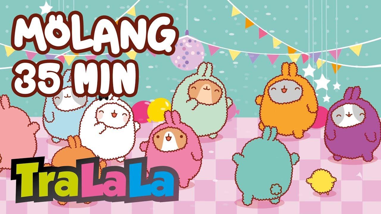 Molang 35MIN (Petrecerea) - Desene animate   TraLaLa