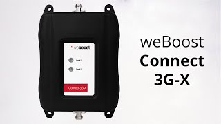 weBoost Connect 3G-X Signal Booster 470105 - This video has been updated
