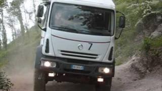 Irisbus 4x4 a Cava de' Tirreni per Il Test Drive Iveco