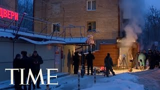 Heating Pipe Bursts In Russian Hotel, Boiling Water Kills 5 | TIME