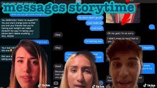 messages storytime~tik tok part 2
