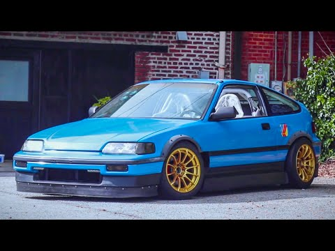 Jonathan Wooley's B16 CRX   What's The Hype With These Honda Boys?