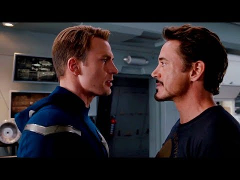 The first time Avengers meet each other - Iron man (2008) to spider-man: far from home(2019)