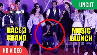 UNCUT - Salman Khan RACE 3 GRAND Music Launch | Jacqueline, Iulia Vântur, Daisy Shah
