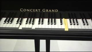 Oh Oh (Thangamagan) Piano Tutorial