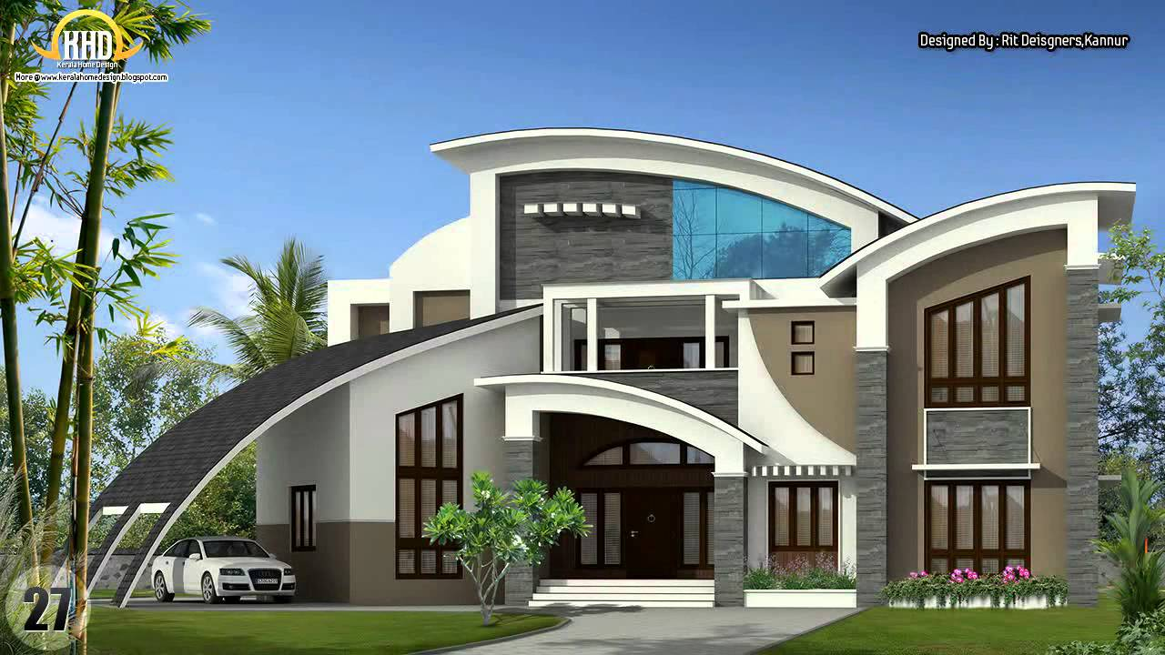 House design collection november 2012 youtube for Unusual home plans