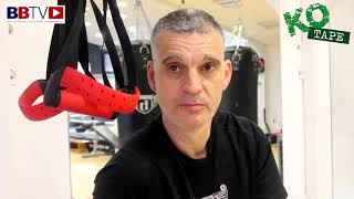 HATTON COACH MIKE JACKSON ON NATHAN GORMAN WIN AND HAVING TYSON FURY IN THE GYM