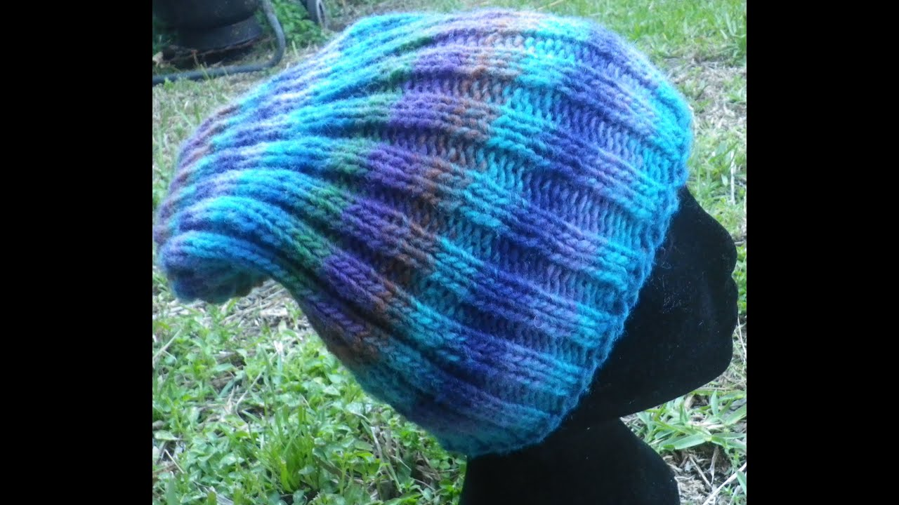 How Many Stitches Per Minute Knitting : How to knit a beanie hat how many stitches to knit a beanie explained How...