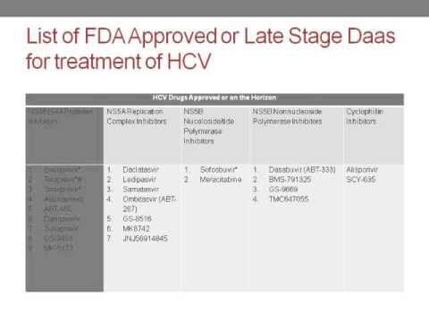 Hold The Interferon: HCV Treatment In The Era Of Direct Acting Antivirals