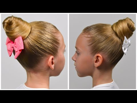 1-minute!-stylish-messy-bun-|-cute-back-to-school-hairstyle-★-little-girls-hairstyles-#86-#lgh