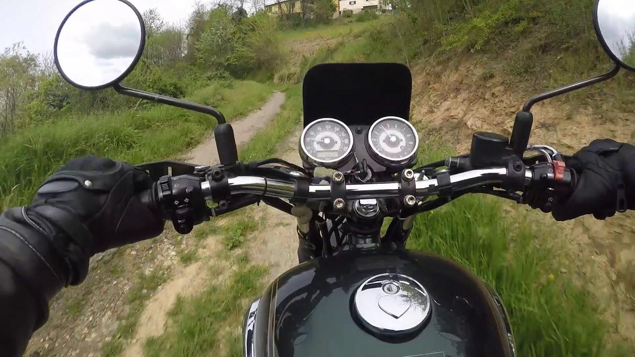 Kawasaki W800 Scrambler Test Drive GoPro