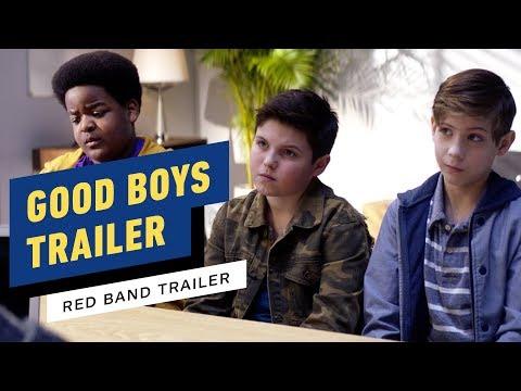 Good Boys – Red Band Trailer #1 (2019) Jacob Tremblay, Brady Noon, Keith L. Williams