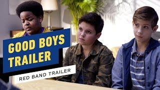 Good Boys - Red Band Trailer #1 (2019) Jacob Tremblay, Brady Noon, Keith L. Williams