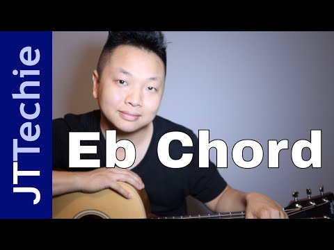 How to Play Eb Chord on Acoustic Guitar | E Flat Chord
