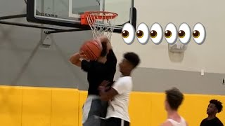 So Many In Game Dunks! Dunked On Someone And Between The Legs! Video
