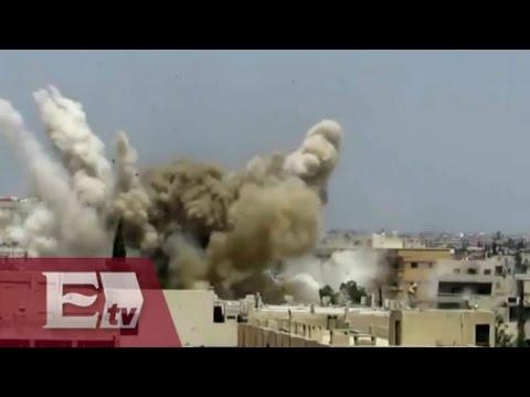 Ataques aéreos de Francia contra el Estado Islámico / Excélsior en la media