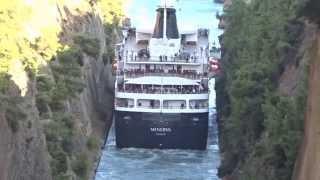 Коринфский канал (The Corinth canal)(Греция., 2014-12-12T18:37:20.000Z)