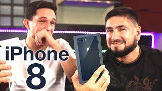 iPhone 8+ Розпакування Огляд з Дімою Масленниковым + Конкурс