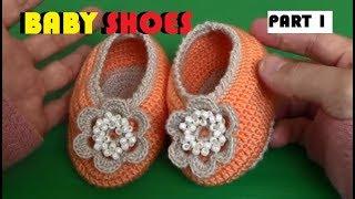 Download lagu CROCHET Tutorial Membuat Alas Sepatu Rajut Bayi PART 1 MP3