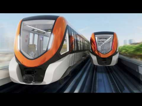 Lahore Orange Line Metro Train - A documentary