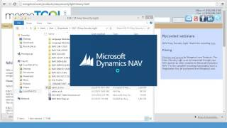 Install and Setup of NAV Easy Security Light (NAV 2013 R2)