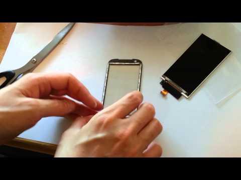 HTC TOUCH PRO2, VERIZON HTC IMAGIO XV6975 DIGITIZER + LCD SCREEN Instructions Guide