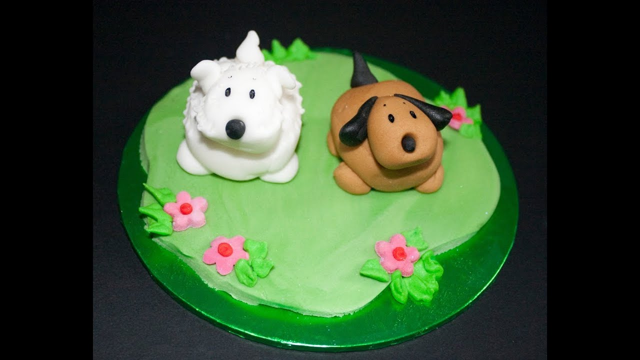 How To Make A Dog Shaped Cake Step By Step