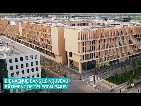 Bienvenue dans le nouveau bâtiment de Télécom Paris