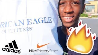 PULLED UP WITH THE HEAT!!!| Mall outlet vlog-Vlog no.12