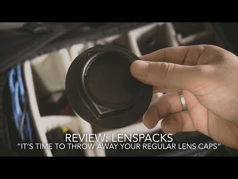 Review: Lenspacks (It's Time To Throw Away Your Lens Caps)
