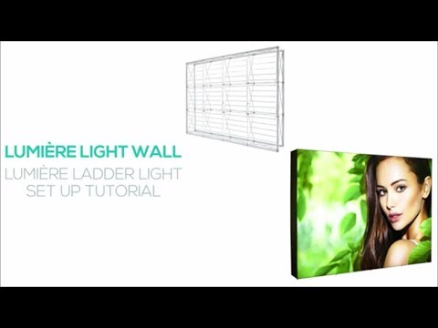 AIRBORNE VISUALS POP UP LINKS WALL LIGHT ASSEMBLY