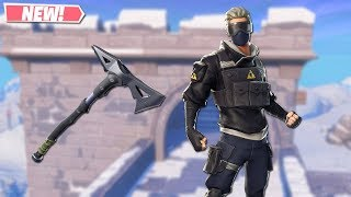 NEW VERGE SKIN GAMEPLAY! NEW LEAKED SKINS ON FORTNITE!! FORTNITE BATTLE ROYALE!!!