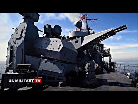 The latest : Gökdeniz 35mm naval air defense system CIWS for Istanbul-class frigate