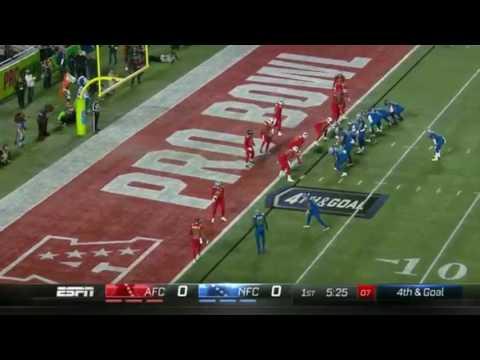 2017 Pro bowl highlights | AFC vs NFC