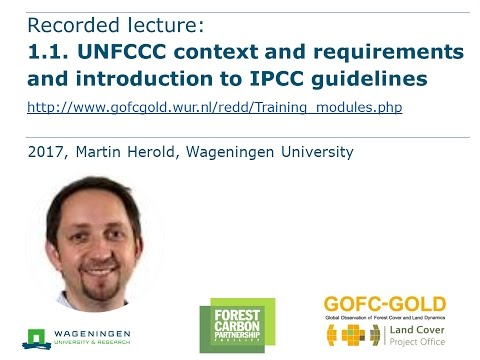 Module 1.1 UNFCCC context and requirements and introduction to IPCC guidelines