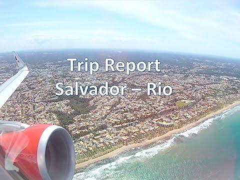 Trip Report Salvador Da Bahia (SSA) To Rio De Janeiro (GIG) On Board Avianca